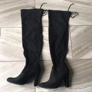 COPY - Over the knee black Steven Madden Boots